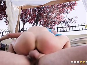 costume play meatpipe loving cougar Cherie Deville humped hard in the bootie