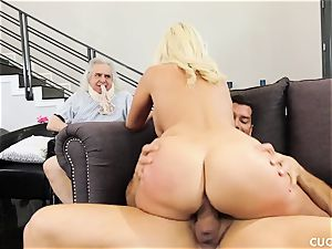 Athena Palomino - My lazy hubby should see how real men action