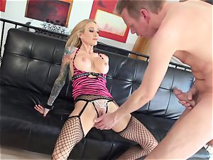 Sarah Jessie humped in her tight cooch