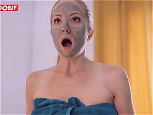 LETSDOEIT - crazy spouse Guilts wife Into super-hot 3