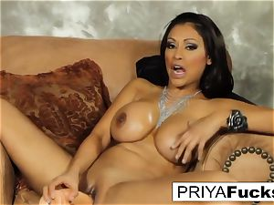 Priya pleases her thirst with a toy