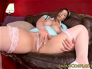 chesty japanese nurse boob banging pov