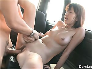 asian pornographic star Marica Hase romped on Wheels