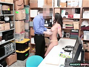 super-hot Latina Sophia Leone gets her cunny plowed by officers immense manhood so hard