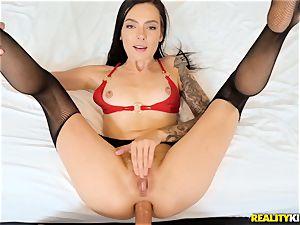 Marley Brinx screwed in her asshole