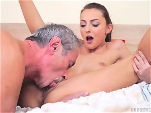 Katy Rose ravaged by a aged dude