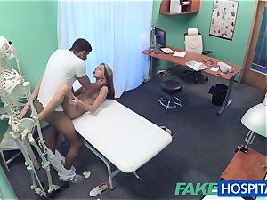 FakeHospital bashful super-cute Russian cured by fuck-stick