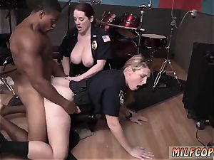 platinum-blonde sumptuous tatted and web cam honey fake penis humid movie grasps cop pulverizing a deadbeat father.