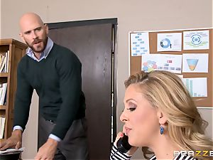 milf chief Cherie Deville gets shafted by a massive dicked employee