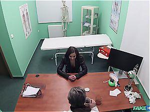 Hidden cam lovemaking in the doctors office
