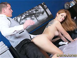 Dane Jones naughty wifey pummeled by room service