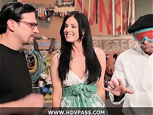 cougar Busters India Summer pummeled with cum-shot