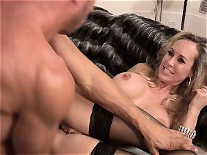 Brandi enjoy pokes a guy in trendy sundress