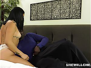 SheWillCheat - super hot wifey Gets Caught Taking black beef whistle