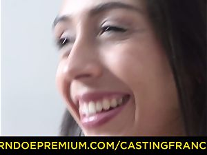 casting FRANCAIS - amateur beauty drilled and spunk adorned