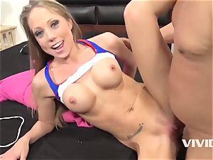harmless cheerleader Shawna Lenee proving her skills