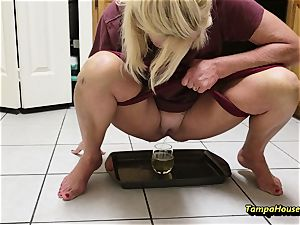 mom Might Be urinated with Ms Paris Rose