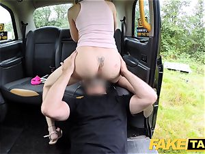 fake cab Skipping school for backseat fuck-fest in taxi