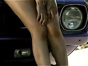 ass queen Valentina Nappi teasing you under the beautiful sun