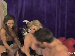 Capri Cavanni and Taylor take on a manhood
