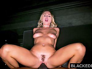 Natalia Starr gets penetrated by a massive black brotha