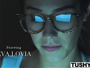 TUSHY Eva Lovia assfuck video part trio