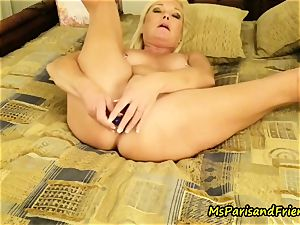 rectal toy climaxes with Ms Paris Rose