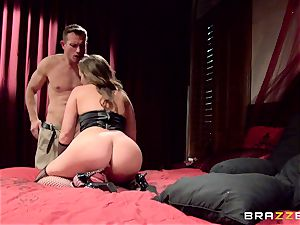 mind-blowing pet Maddy OReilly yearns for this enormous jizz-shotgun