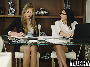 TUSHY Ariana Marie first-ever anal