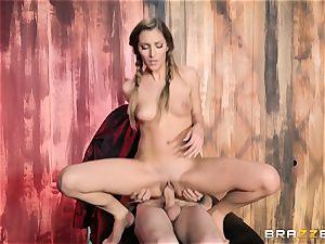Moka Mora pulverized into her pussyhole