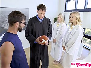 Church stunner screws step-brother Behind Dads Back! S1:E4