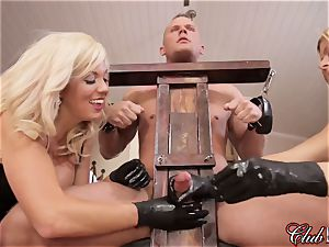 sultry Ms. Alexis Fawx dominates her new enslaved