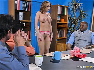 Britney Amber getting group penetrated
