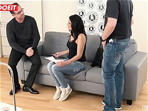 super-naughty nubile Learns to drizzle in first-ever time audition