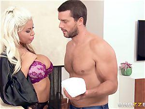Bridgette B penetrates the neighbour