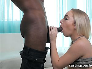 Amy arrives to CastingCouch HD