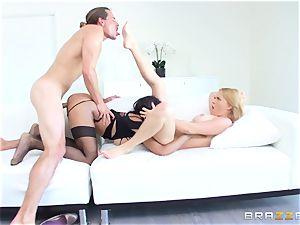 molten prostitute Anya Ivy joins stepmom Krissy Lynn for some fun