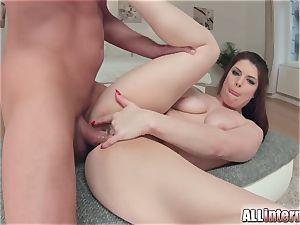 Allinternal brown-haired tastes her ass fucking internal cumshot