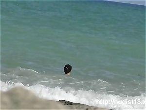 nudist beach flick sumptuous tight whores