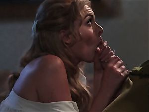 Keira Nicole takes a rod battering in this wonderful parody