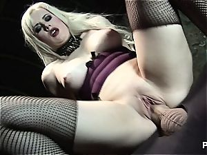 stud on a chain humped by ash-blonde mistress