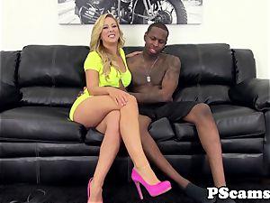 web cam babe Cherie Deville bi-racial pounds