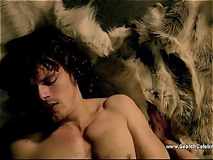 Caitriona Balfe in steamy bang-out gig from Outlander