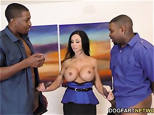nubs Jade is prepared For rectal orgy and double penetration With big black cock