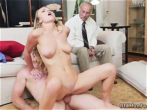 gal kicking guy Molly Earns Her Keep