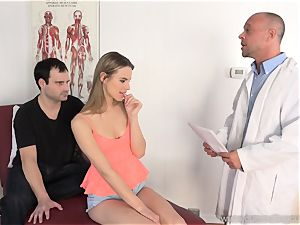 Jillian Gets torn up By Real stud in Front of husband